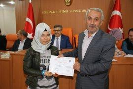 Türkçe Öğrenen Mülteciler Sertifikalarını Aldı
