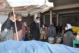 Ermenek'te Pazar Tezgahları Yeniden Kuruldu
