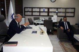 Sayıştay Başkanı Seyit Ahmet Baş Belediyeyi Ziyaret Etti