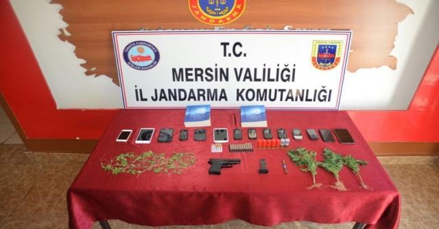 Mersindeki Uyuşturucu Operasyonuna 8 Tutuklama