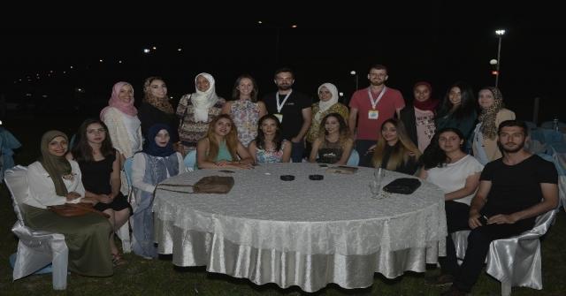 Yabancı Uyruklu Öğrenciler Karamana Veda Etti