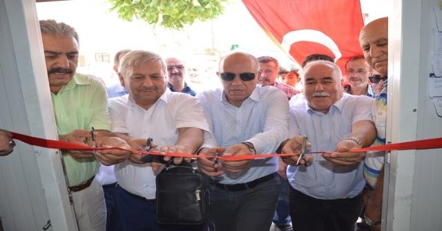 Karamanda Nefise Sultan Mahallesine Yaptırılan Muhtarlık Ofisi Açıldı