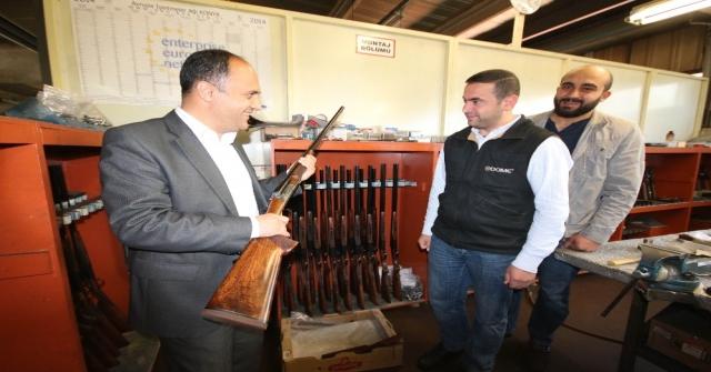 Beyşehirde Silah Sektörü Kabına Sığmıyor