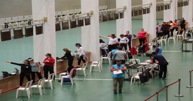 Havalı Silahlar Türkiye Şampiyonası Mersinde Başladı