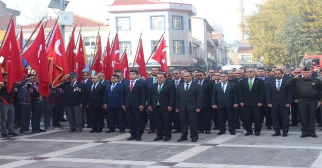 Beyşehirde 10 Kasım Atatürkü Anma Töreni