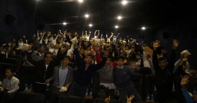 Mersinde 7 Bin 15 Öğrenci Sinema İle Buluştu