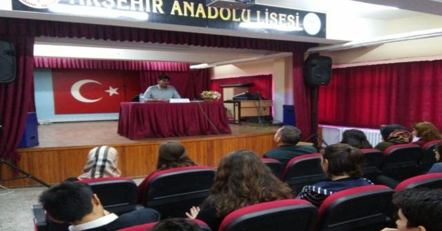 Akşehirde Anadolu Lisesinde Kariyer Günleri Düzenleniyor