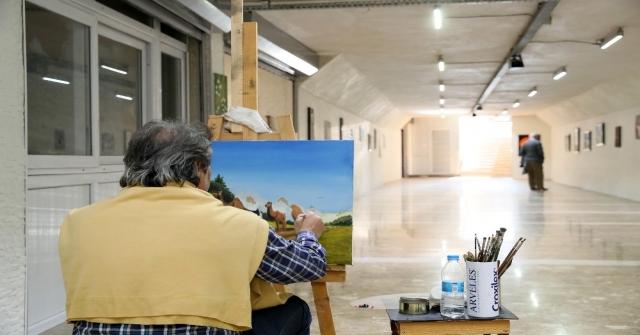Yaya Geçidi Sanat Galerisine Dönüştü