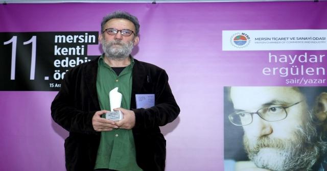 Mersin Kenti Edebiyat Ödülü, Şair, Yazar Haydar Ergülene Verildi