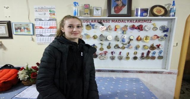Dünya Tekvando Şampiyonu Zeliha Ağrıs, Gözünü Olimpiyatlara Çevirdi
