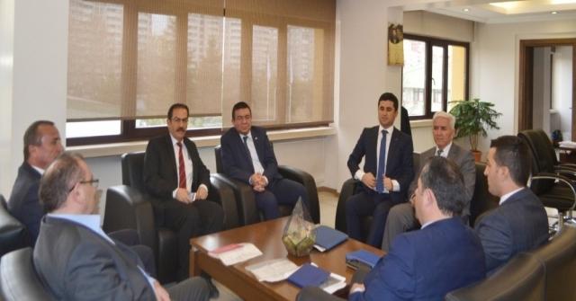 Belediye Başkanlarından Medaşa Ziyaret