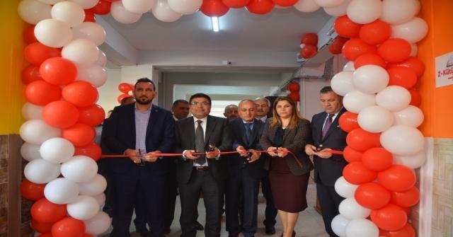 Mezitli Viranşehir 75. Yıl Ortaokulunda Z Kütüphanesi Açıldı