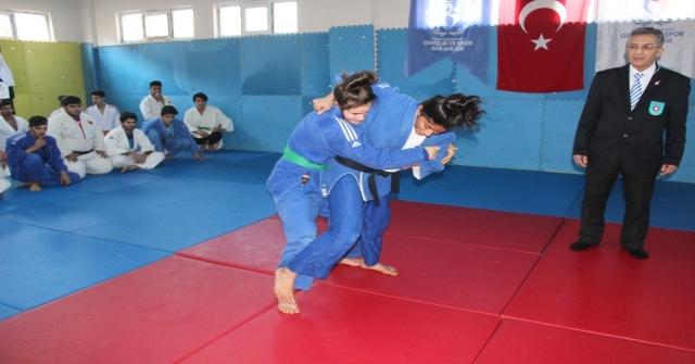 Mersinde Judo Seçimleri Sona Erdi