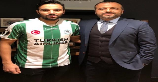 Volkan Şen Atiker Konyaspor Formasını Giydi