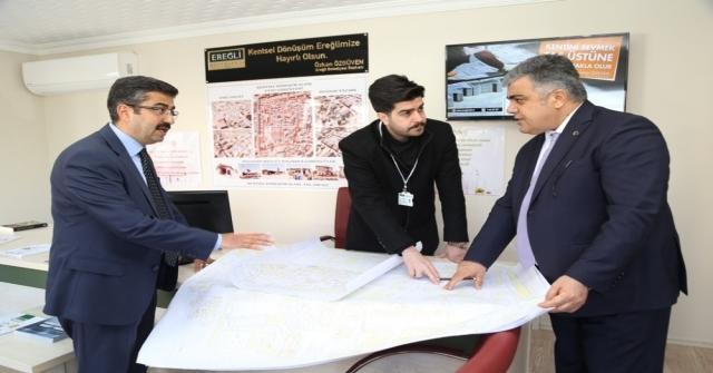 Ereğlide Kentsel Dönüşüm Projesi Başlıyor