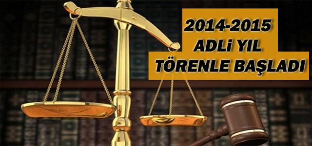 2014-2015 Adli Yıl Başladı