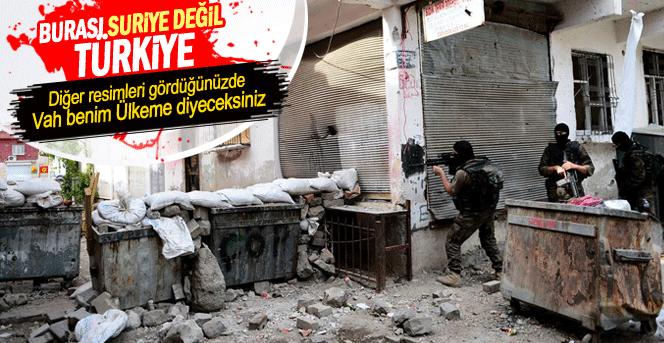 Diyarbakırda Terör Örgütüne Yönelik Operasyon