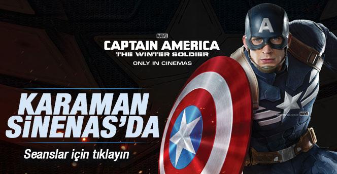Kaptan Amerika filmi Karaman'da vizyona giriyor