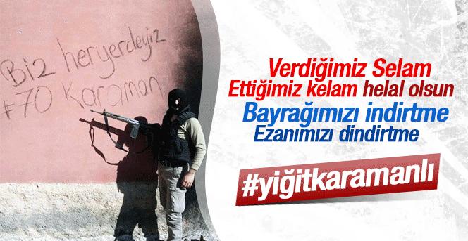 Diyarbakır'dan Karaman'a Askerimizden Selam Var