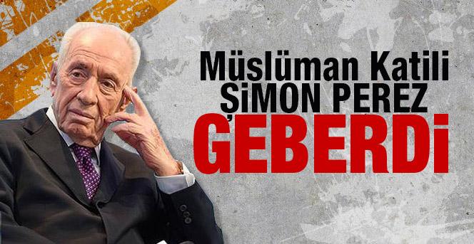 Müslüman Katili Şimon Perez Geberdi