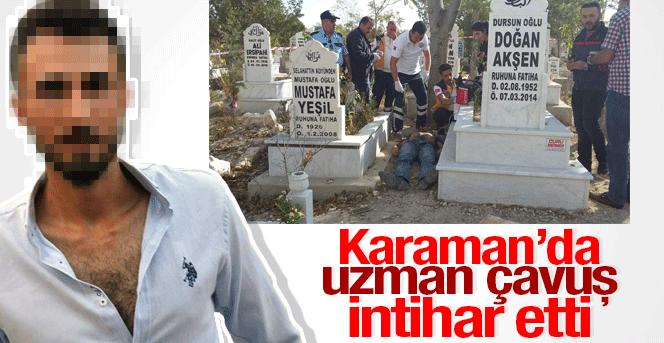 Karaman'da uzman çavuş intihar etti
