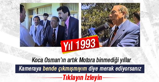 Merhum Alparslan Türkeş'in Karaman ziyareti