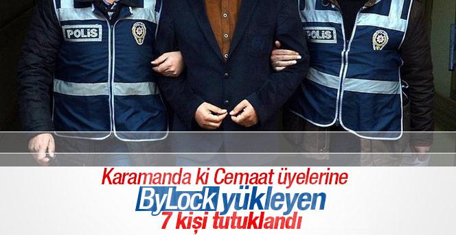 Fetö üyesi 7 kişi tutuklandı