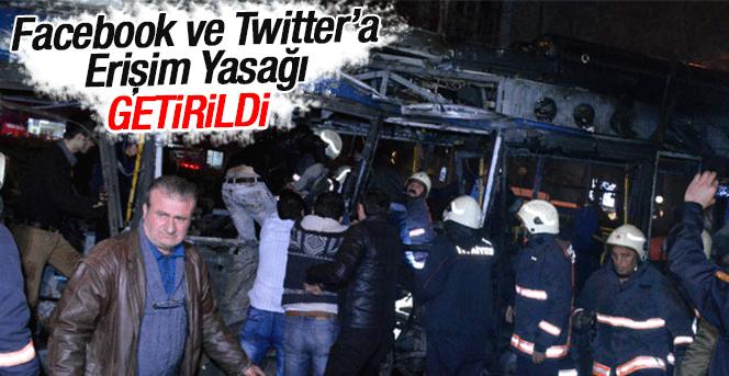 Sosyal medyaya erişim yasağı!