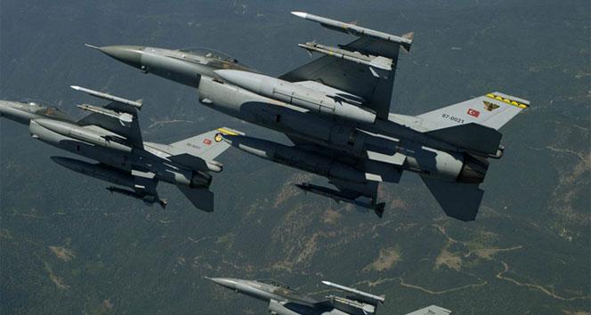 Sincar ve Karaçok'a hava harekatı: Tam 89 terörist...