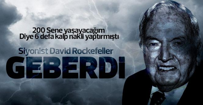 Milyarder David Rockefeller Geberdi