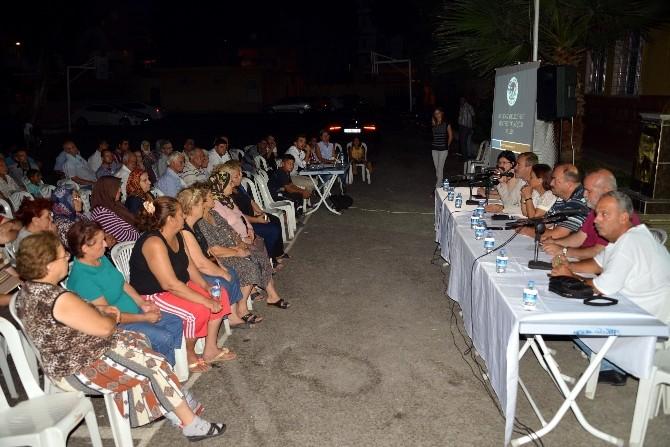 Eş Başkanlar, Barış Ve Bahçe Mahallesi Halkına Kentsel Dönüşümü Anlattı