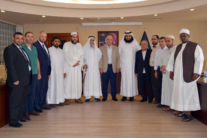 Katar Emirliği Heyetinden Mersin Üniversitesi'ne Ziyaret