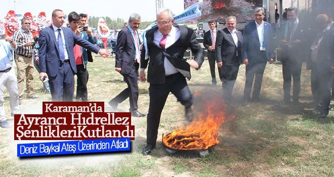 Hıdırellez kutlamaları Ayrancı'da gerçekleşti