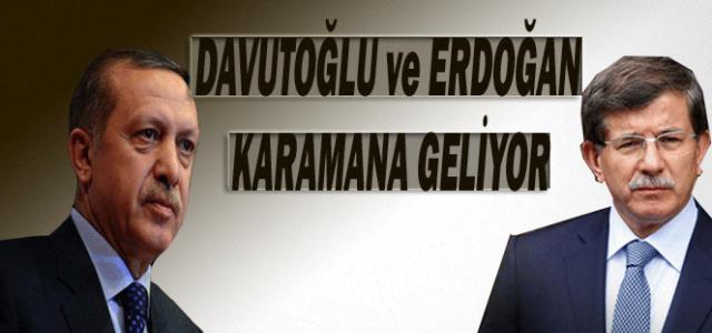 29 Ekim Resepsiyonu İptal Edildi, Erdoğan ve Davutoğlu Karaman'a Geliyor