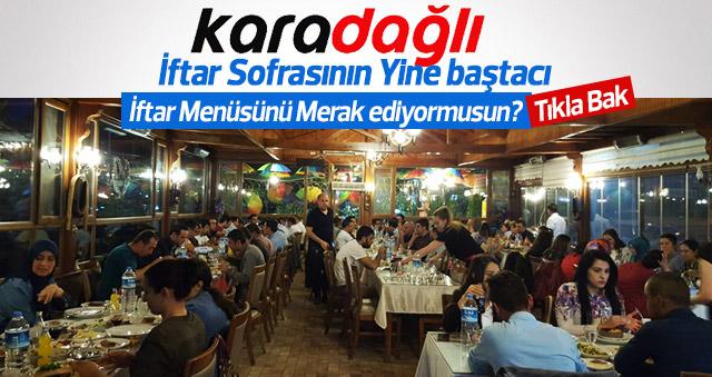 Karadağlı'da her zaman ki Ramazan bir başka