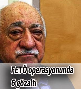 Mersin'de jandarmaya yönelik FETÖ operasyonunda 6 gözaltı