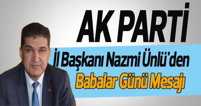AK Parti Karaman Babalar Günü Mesajları