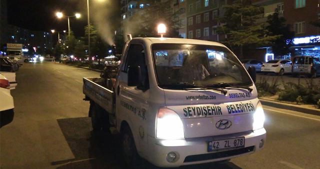 Seydişehir'da sinekle mücadele çalışmaları