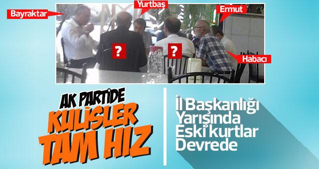 AK Parti kulisleri tam hız devam ediyor