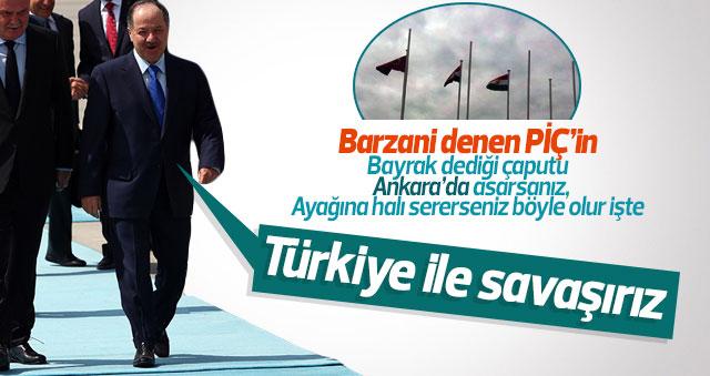 Barzani'den Türkiye'ye tehdit