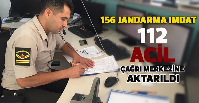 156 Jandarma İmdat Karaman 112 Acil Çağrı Merkezine Aktarıldı