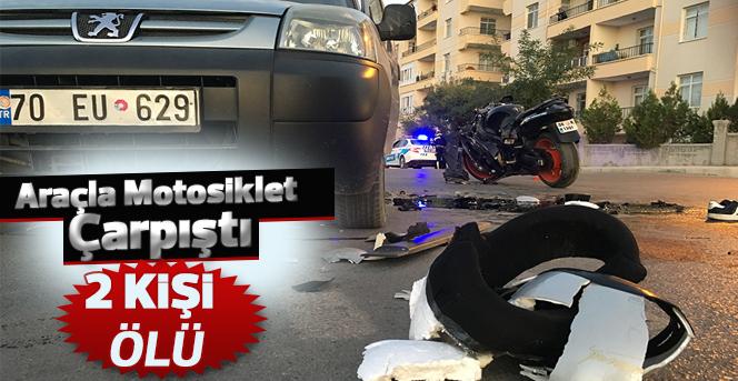 Karaman'da trafik kazası: 2 ölü