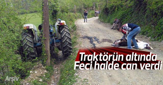 Karaman'da traktörün altında kalan şahıs öldü