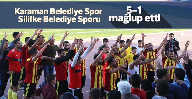 Karaman Belediye Spor: 5 – Silifke Belediye Spor: 1