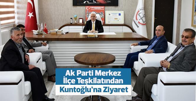 Ak Parti Merkez İlçe Teşkilatından Kuntoğlu'na Ziyaret