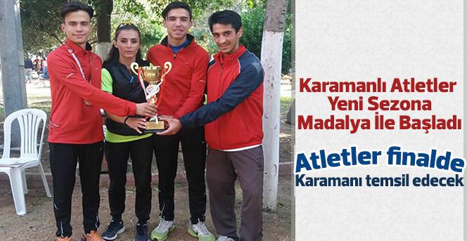 Karamanlı Atletler Yeni Sezona Madalya İle Başladı