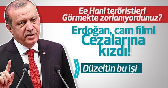 Erdoğan cam filmi cezalarına kızdı; Düzeltin bu işi!