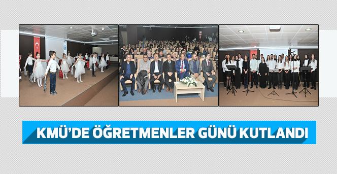 KMÜ'de Öğretmenler Günü Kutlaması
