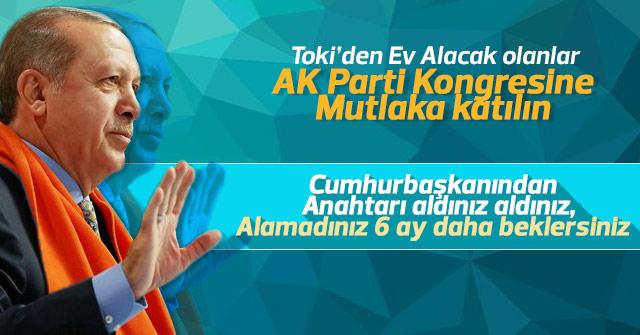 AK Parti Kongresine mutlaka katılın