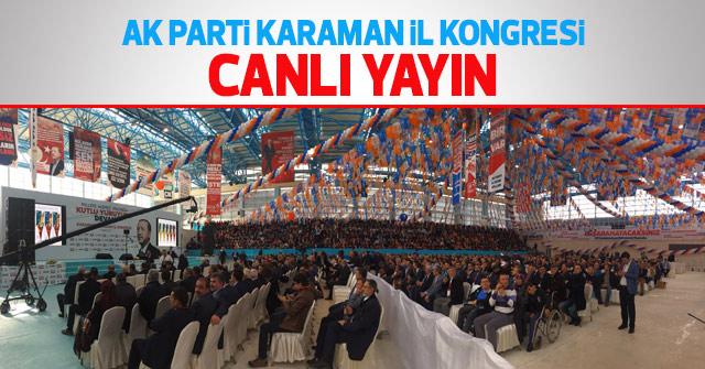 AK Parti İl Kongresi Canlı Yayın